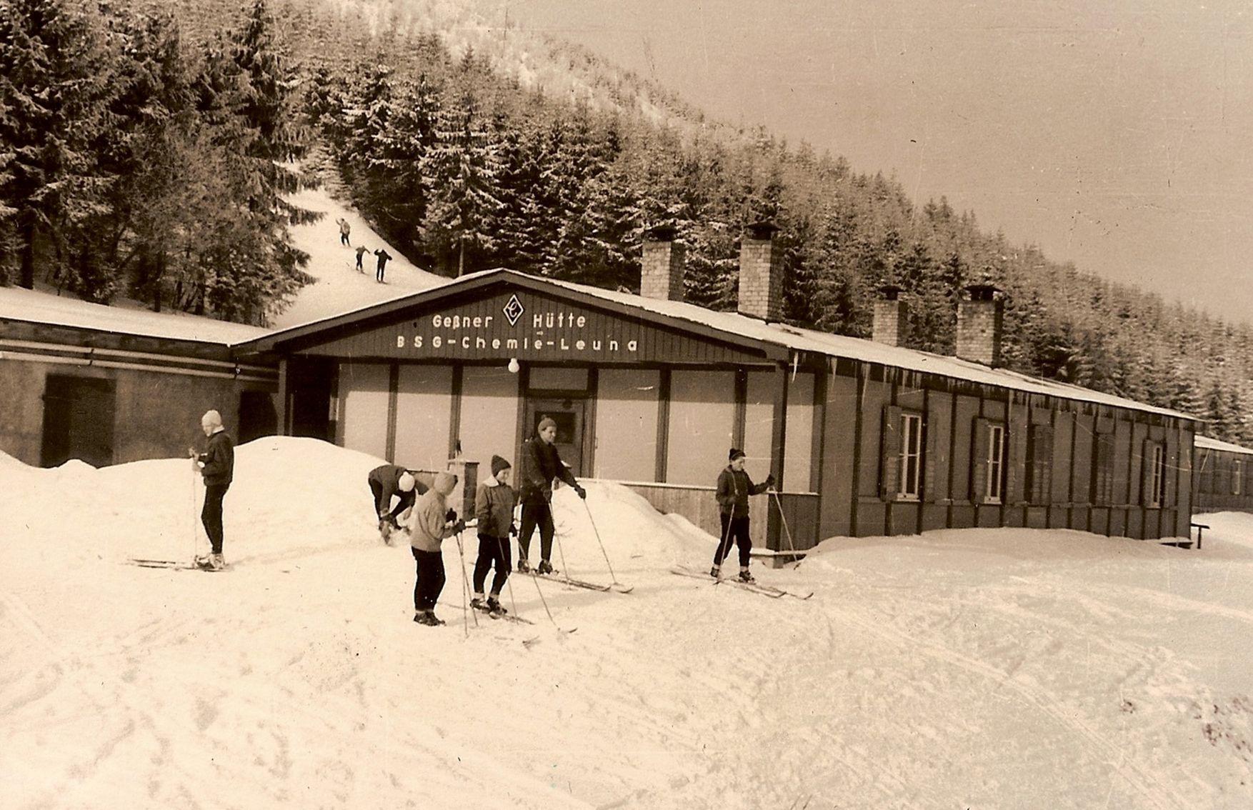 Skihuette Sw Skifahrer